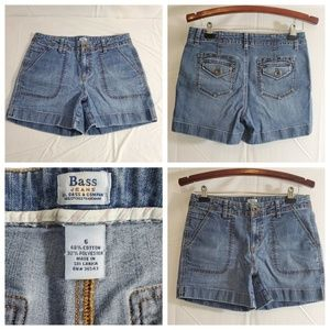 Bass Jeans Women's Size 6 Medium Wash Denim Shorts